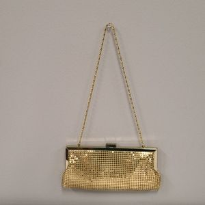 Style & Co. Gold Sequened evening clutch purse
